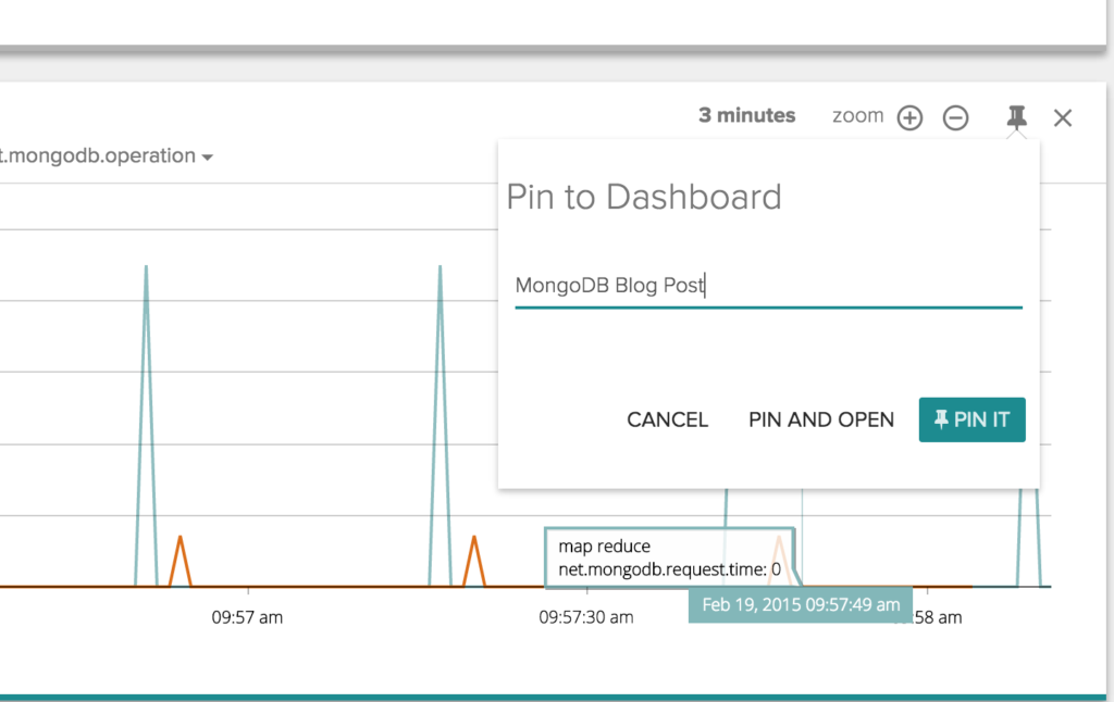 Aggregate vs Map Reduce - Pin to Dashboard & Open