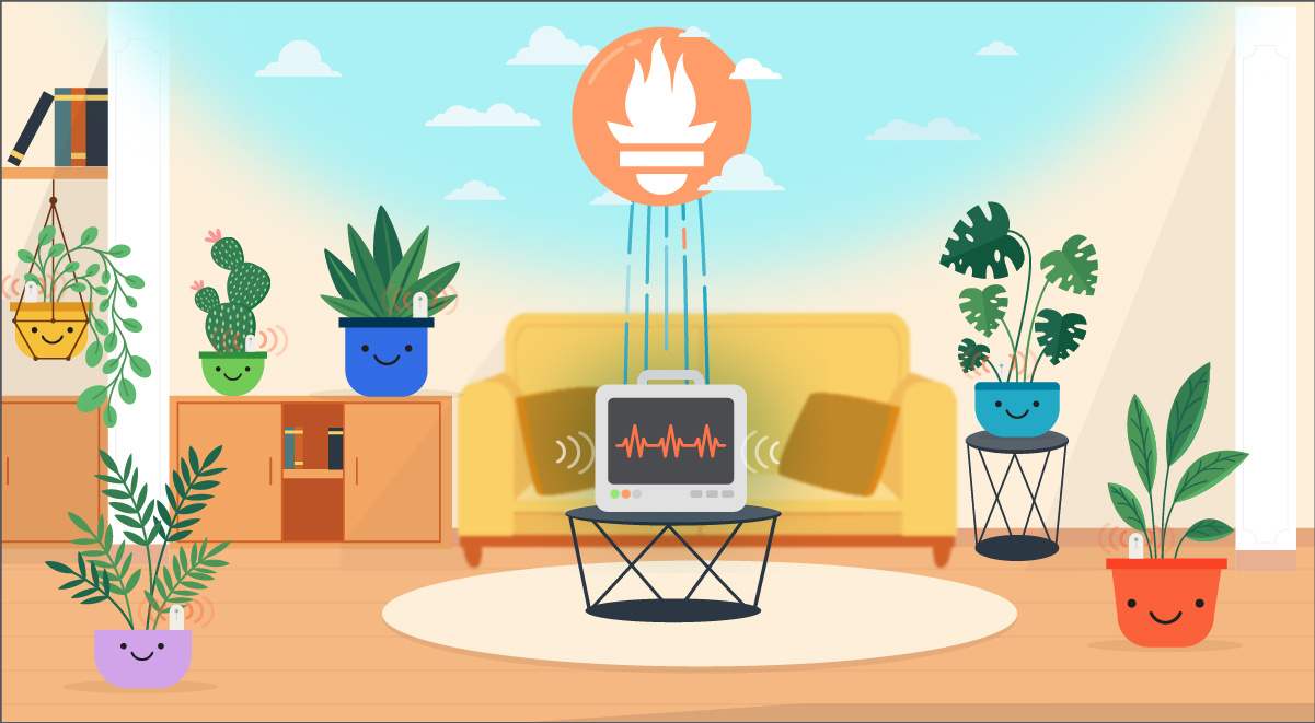Smart gardening with a Raspi and Prometheus